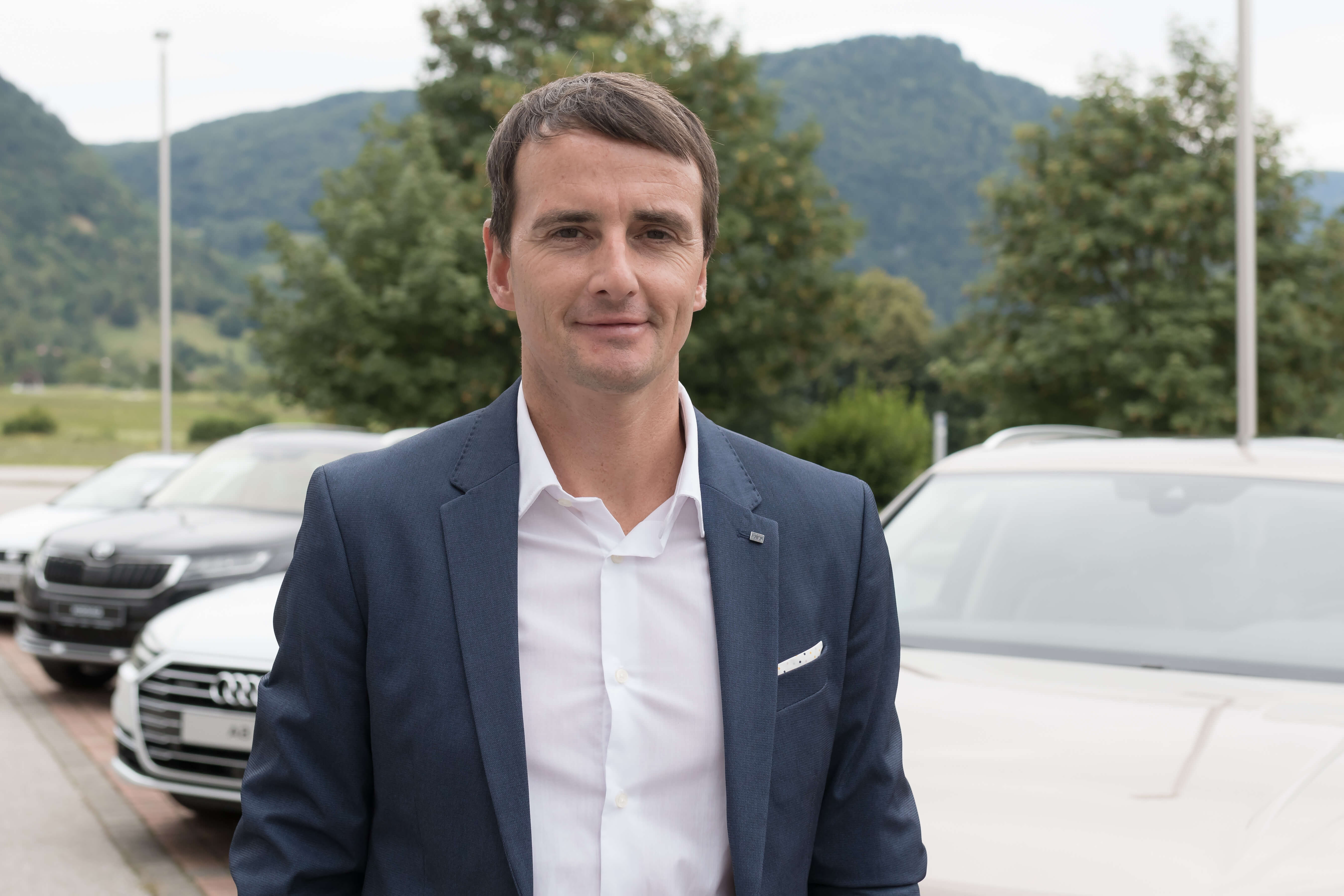 Damjan Bergant, Porsche Slovenija