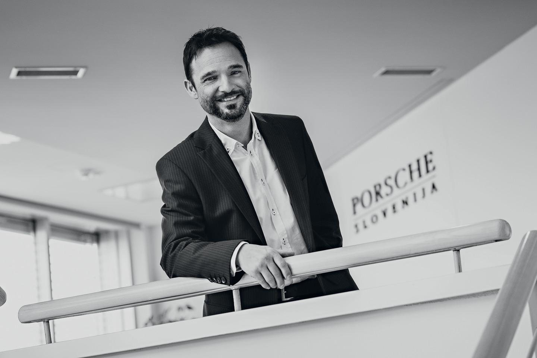 Danilo Ferjančič, generalni direktor Porsche Slovenija