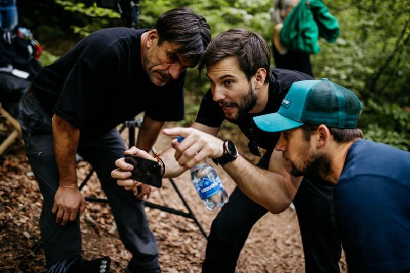 Mojstri podobe: fotograf Arne Hodalič, režiser Nejc Levstik in direktor fotografije Rožle Bregar.